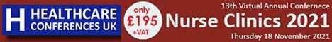 Nurse Clinics 2021 - Healthcare Conferences UK
